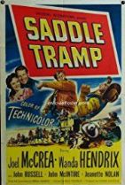 Saddle Tramp 1950 DVD - Joel McCrea / Wanda Hendrix